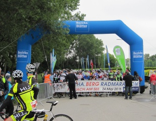 Športreporťáci najlepší na Leitha.Berg Radmarathone 2015